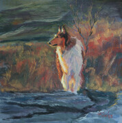Collie in the Coulee
